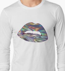 Holographic Lips Long Sleeve T-Shirt
