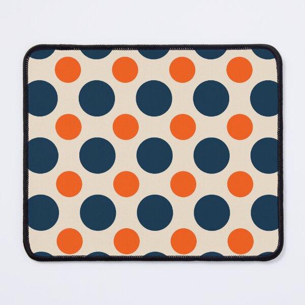 Polka Dot Line Pattern - Polka Dot Mouse Pad