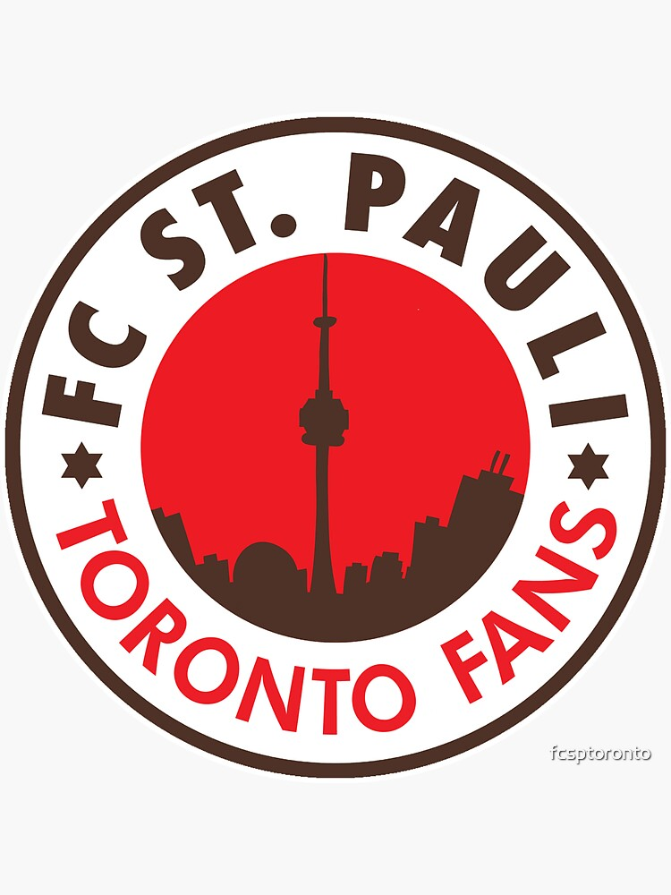 FC ST. PAULI TORONTO FANS logo by fcsptoronto