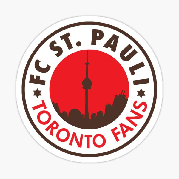 FC ST. PAULI TORONTO FANS logo Sticker