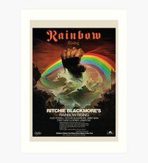 Rainbow Rising Album Launch 1976 Advert Poster Art Print