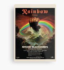 Rainbow Rising Album Launch 1976 Advert Poster Metal Print