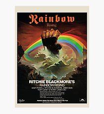 Rainbow Rising Album Launch 1976 Werbeplakat Fotodruck