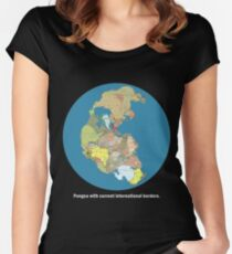 National Pangea Women's Fitted Scoop T-Shirt