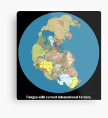 National Pangea Metal Print