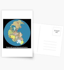 National Pangea Postcards