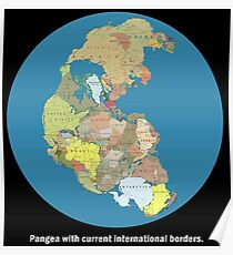 National Pangea Poster