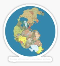 National Pangea Sticker