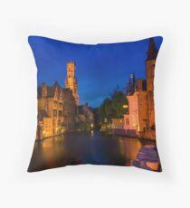 Bruges, Belgium Throw Pillow