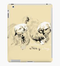 White & Wong iPad Case/Skin