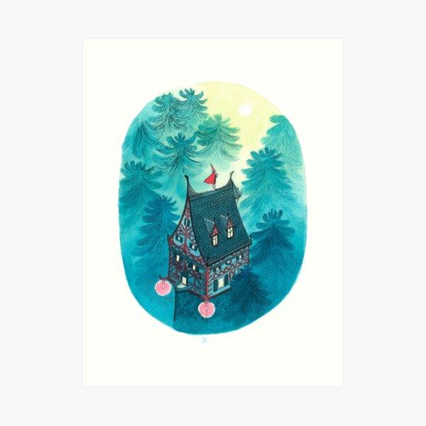 Evening melody Art Print