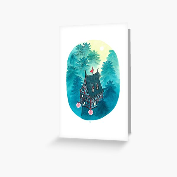 Evening melody Greeting Card
