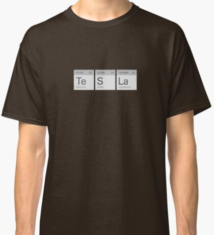Periodic Tesla Classic T-Shirt