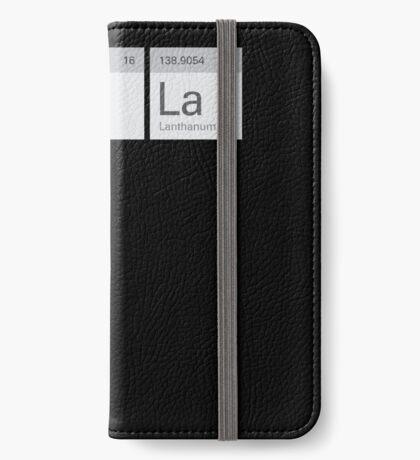 Periodic Tesla iPhone Wallet