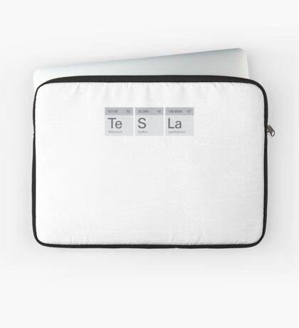 Periodic Tesla Laptop Sleeve