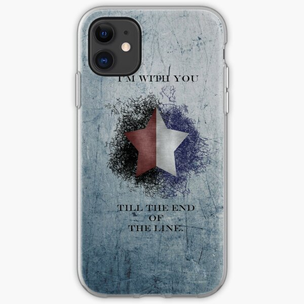 I'm with you till the end of the line ver2 iPhone Soft Case