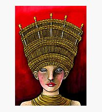 Queen of Yarn Photographic Print
