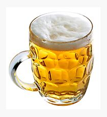 Beer drinking Photographic Print