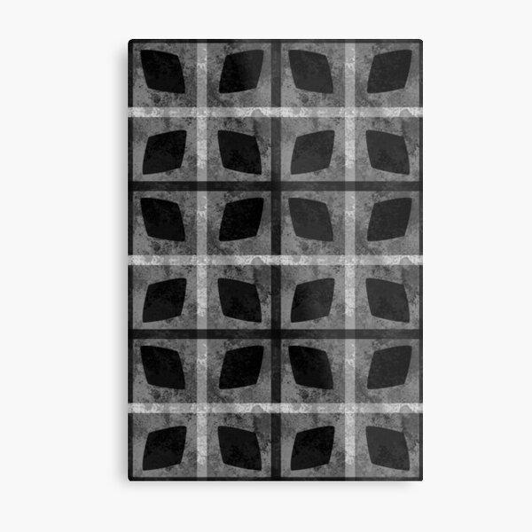 Dark Goth Pattern Metal Print