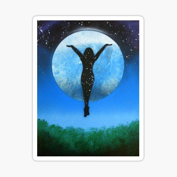 Moon Goddess Sticker