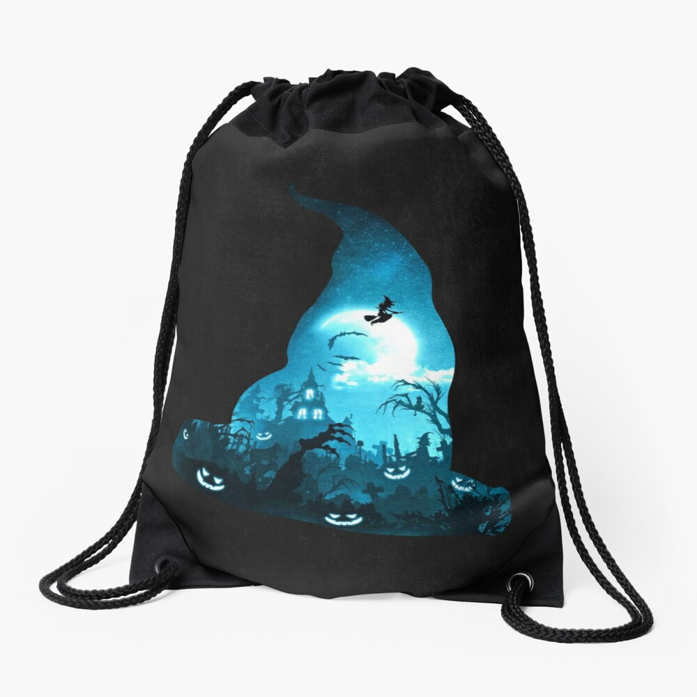 The Witches Hour Drawstring Bag