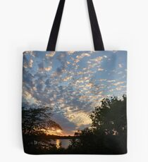 Sunset Across Mozingo Lake Tote Bag