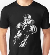 The Force by Grey Williamson (White) Slim Fit T-Shirt