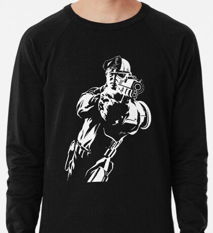 The Force by Grey Williamson (White) Lightweight Sweatshirt