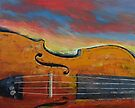 Violin by Michael Creese