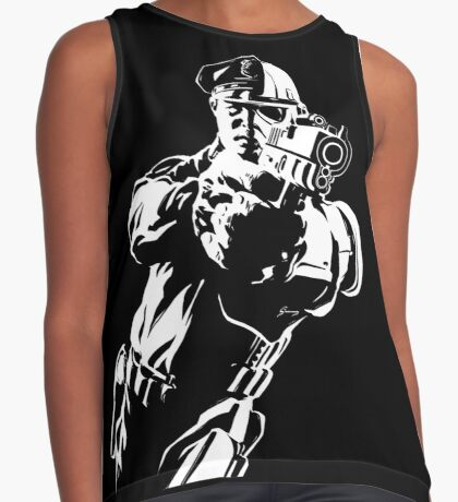 The Force by Grey Williamson (White) Contrast Tank