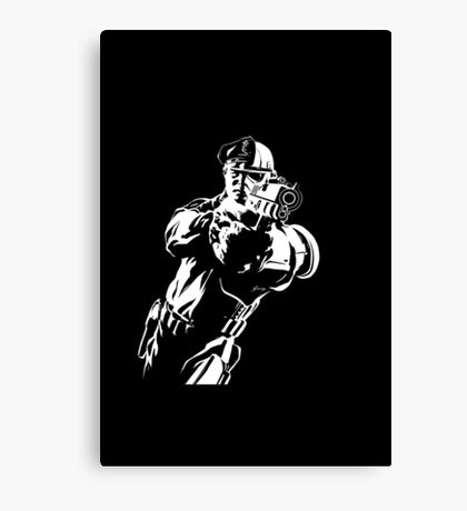 The Force by Grey Williamson (White) Canvas Print