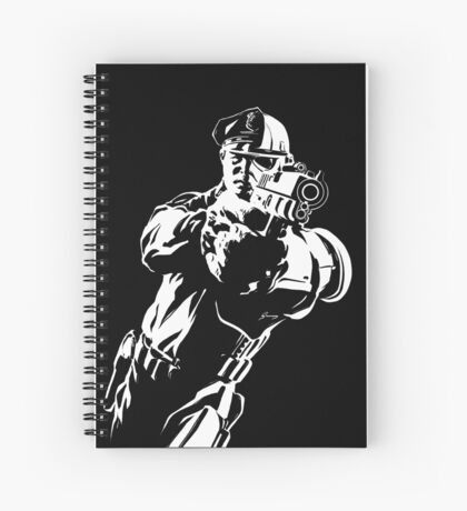 The Force by Grey Williamson (White) Spiral Notebook