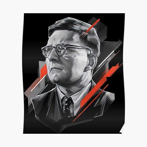 Dmitri Shostakovich Poster