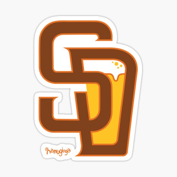 San Diego Baseball & Beer Sticker