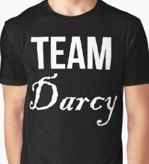 Team Darcy Jane Austen Pride & Prejudice Graphic T-Shirt