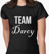 Team Darcy Jane Austen Pride & Prejudice Womens Fitted T-Shirt