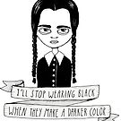 Wednesday Addams by agrapedesign
