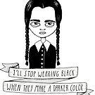 Mittwoch Addams von agrapedesign