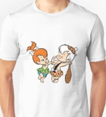 Pebbles and Bam Bam Muscles Unisex T-Shirt