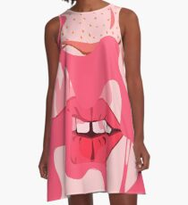 Bubblegum Pop A-Line Dress