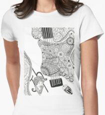 Music is my relligion - 2 Women's Fitted T-Shirt