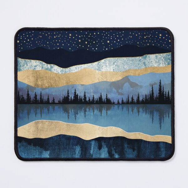 Midnight Lake Mouse Pad