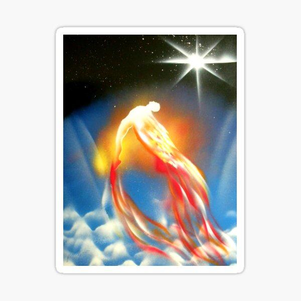 Flight of Icarus Sticker