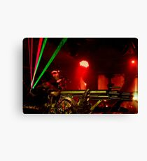lasers and guns Canvas Print
