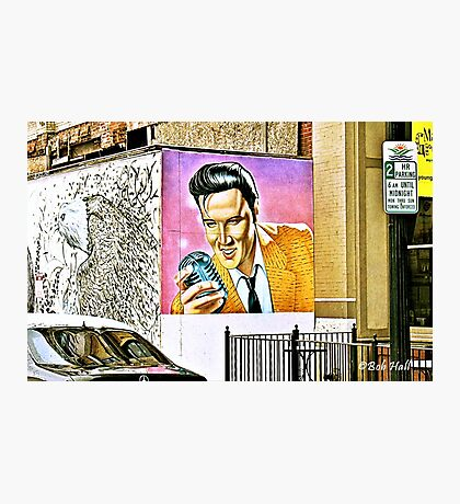 """""""We Have an Elvis Sighting""""... prints and products Photographic Print"""