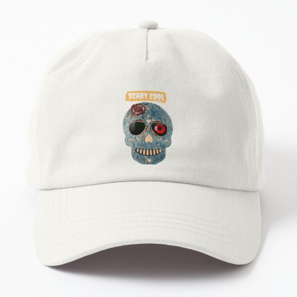 Skull products Scary Cool Halloween Skull Stuff  Dad Hat