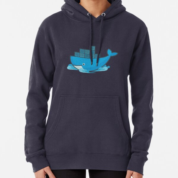 Docker Moby Whale Pullover Hoodie