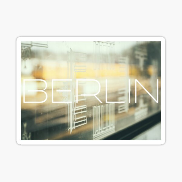 Berliner Fenster Sticker