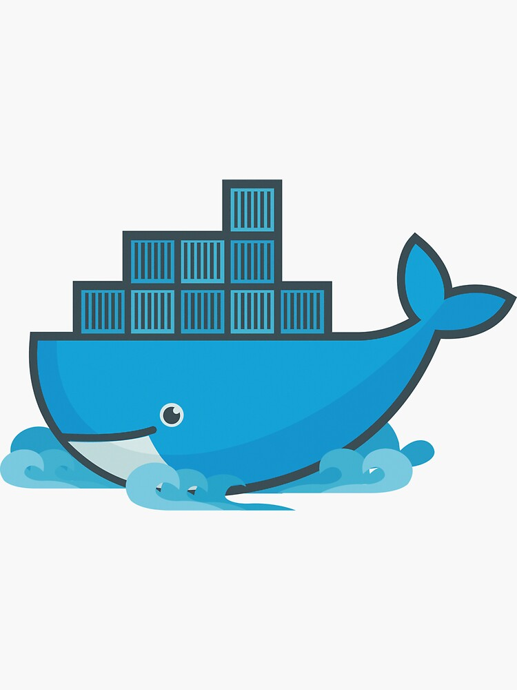 Docker Moby Whale by UnitShifter