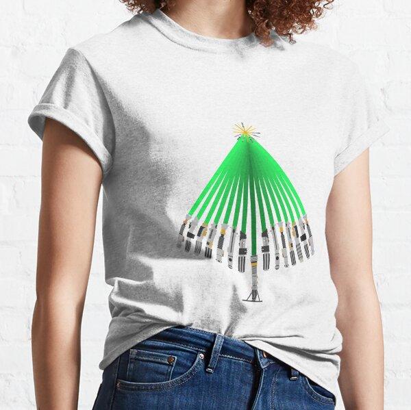 LightSaber Christmas Tree Classic T-Shirt